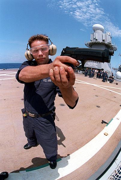 Navy_Handgun_Training