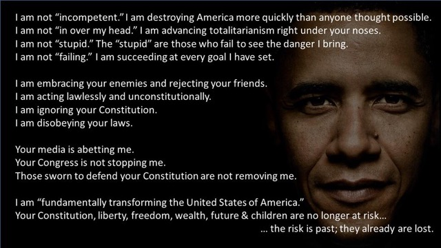 Obama is Not Incompetent...